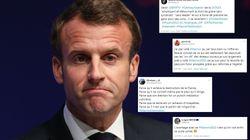 #MacronDestitution vs. #Macron2022, pro- et anti-président s'écharpent sur
