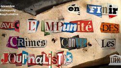 L'Unesco recense sur une carte les 1349 journalistes tués dans le monde depuis