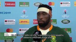 Il discorso del capitano del Sudafrica contro ogni razzismo unisce e commuove il