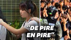À Hong Kong, les images choquantes des dernières