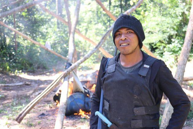 O indígena Paulo Paulino Guajajaraestava na casa dos vinte anos e deixa um