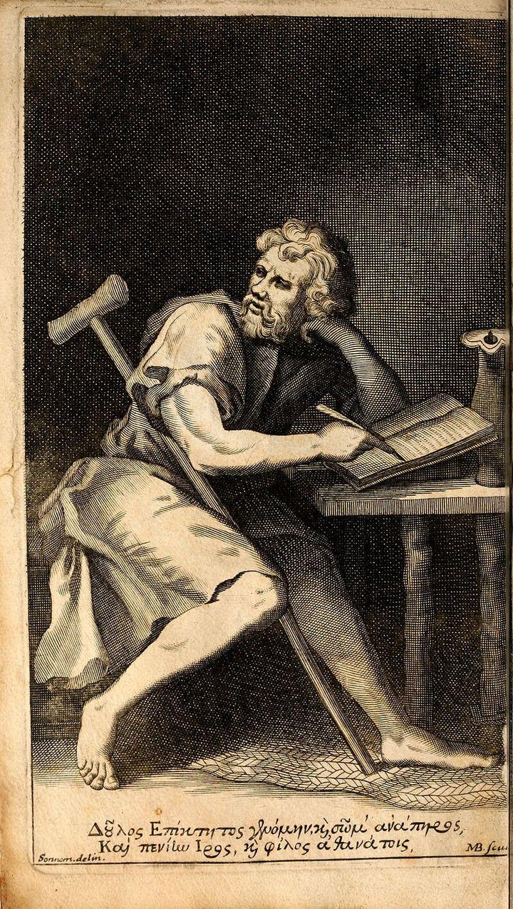 Ο Στωικός φιλόσοφος, Επίκτητος.