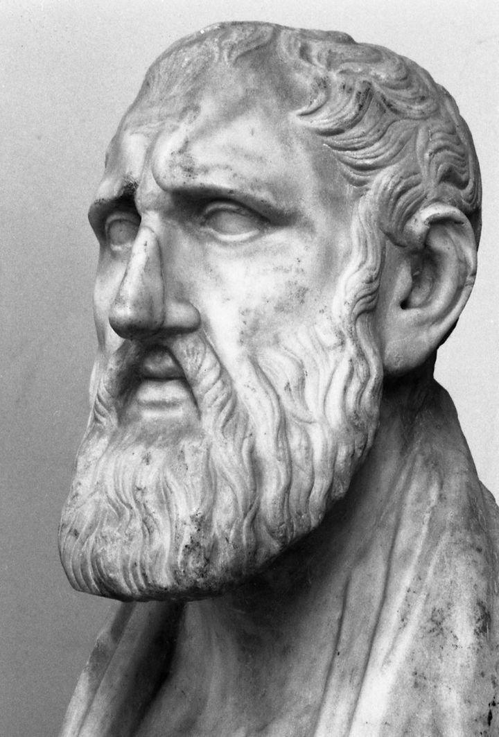 Ζήνων ο Κιτιεύς, πορτραίτο.