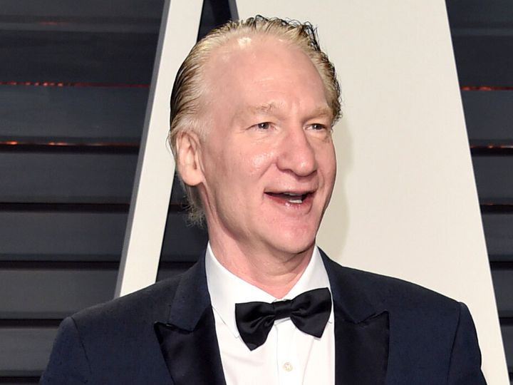 "Bill Maher is ""a little cautious"" around vaccines."