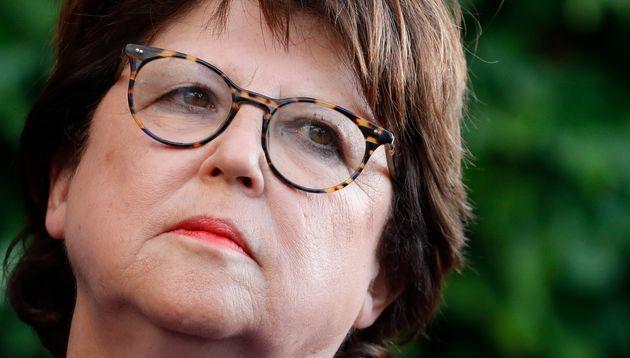 Martine Aubry, ici en juillet au Sénat à Paris, a annoncé que la ville de Lille...