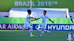 U-17 축구 대표팀이 월드컵 16강에