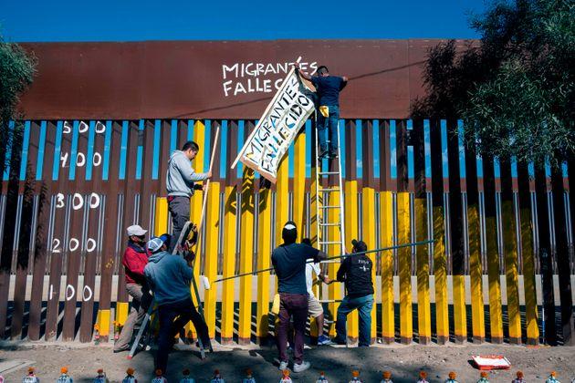 미국 국경장벽이 100달러짜리 전동톱에