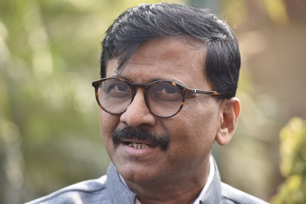 Shiv Sena Rajya Sabha MP Sanjay Raut in a file