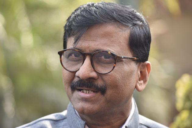 Shiv Sena Rajya Sabha MP Sanjay Raut in a file
