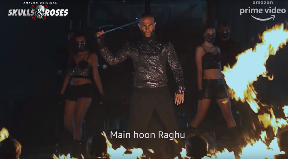 Raghu Ram on Skulls and Roses.