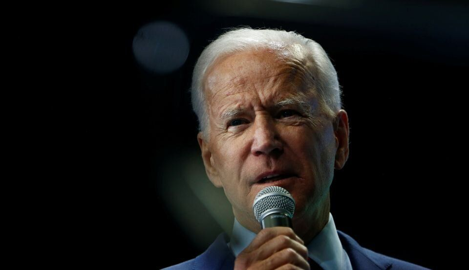 Joe Biden, ici le 1er novembre à Des Moines, dans l'Iowa, est toujours en tête des sondages pour la primaire démocrate.