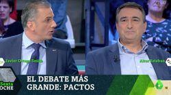 Ortega Smith (Vox) amenaza en 'LaSexta Noche' a Esteban (PNV) con ilegalizar su