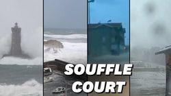 Vagues, vents, orages, neiges... les éléments déchaînés dans de nombreux