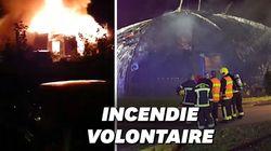 Un chapiteau incendié dans les Yvelines au cours d'une nuit de