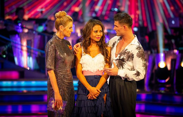 Emma and Aljaz have been voted off Strictly Come