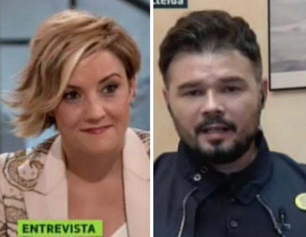 Cristina Pardo y Gabriel Rufián en 'Liarla Pardo'