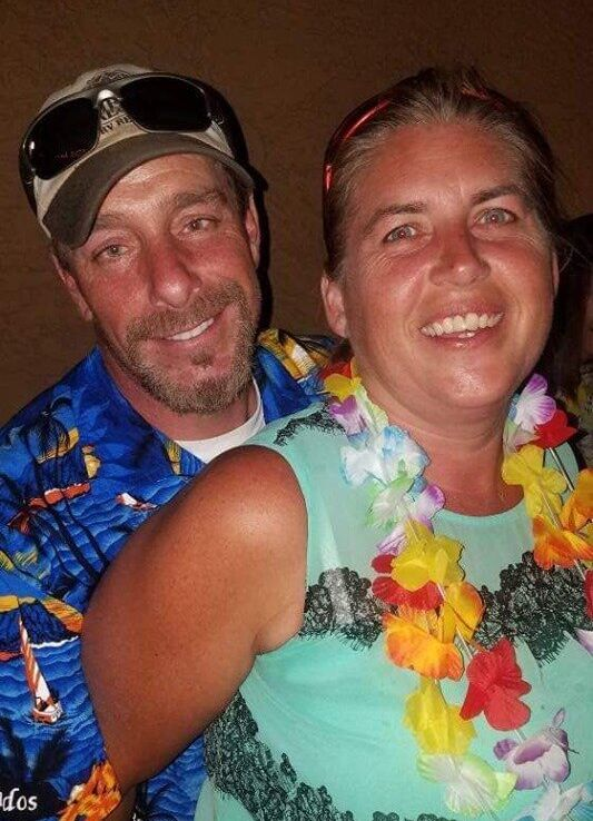 The bodies of James Butler, 48, and his wife Michelle, 46, were found buried on a Corpus Christi beach last week. Their death