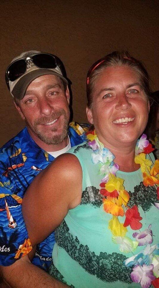 The bodies of James Butler, 48, and his wife Michelle, 46, were found buried on a Corpus Christi, Texas, beach last week. The