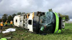 France Bus Crash: Australian Man Onboard Overturned