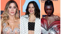 Los 'looks' de la alfombra roja de los European Music Awards en