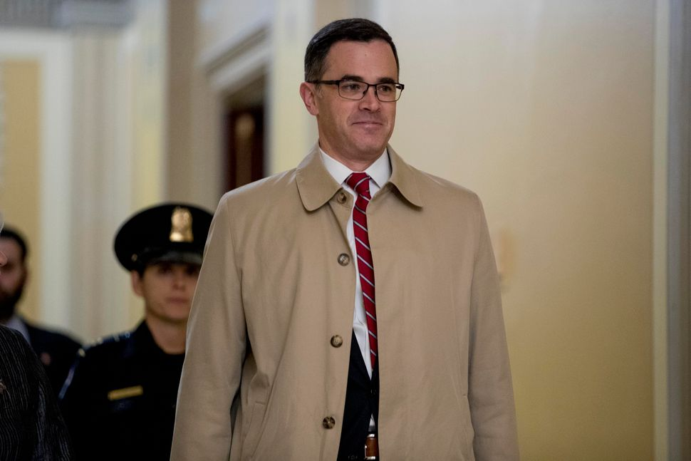 Former top national security adviser to Trump, Tim Morrison, testified that he had raised concerns with White House lawyers a