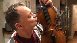 기차에서 잃어버린 310년된 3억원짜리 바이올린이 주인에게