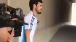 팔레스타인 사람을 등 뒤에서 쏘는 이스라엘 경찰의 영상이