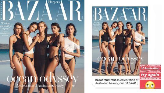 Readers Slam Harper's Bazaar's 'Out Of Touch' December
