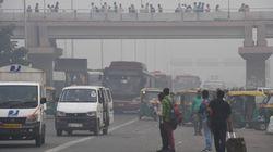 Ce lundi à New Delhi, la pollution aux particules fines est 78 fois pire qu'à