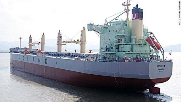 Πειρατεία και απαγωγή ναυτικών από φορτηγό - πλοίο ανοιχτά του Μπενίν στον Κόλπο της