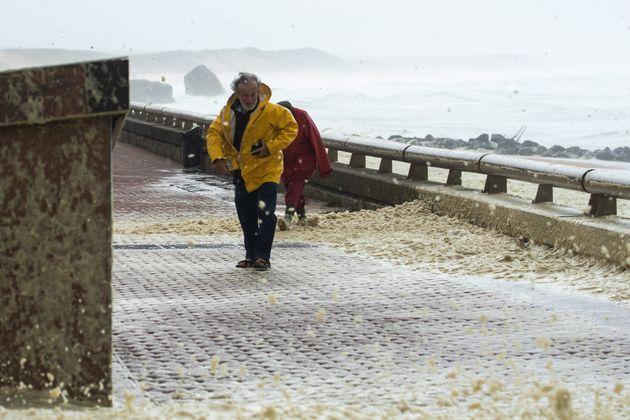 Dimanche 4 novembre, des rafales allant jusqu'à 160km/h ont soufflé sur le littoral