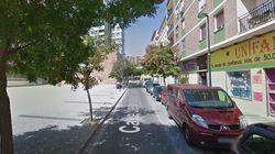 Un hombre apuñala a una mujer en Zaragoza y se suicida tirándose desde la grúa de una