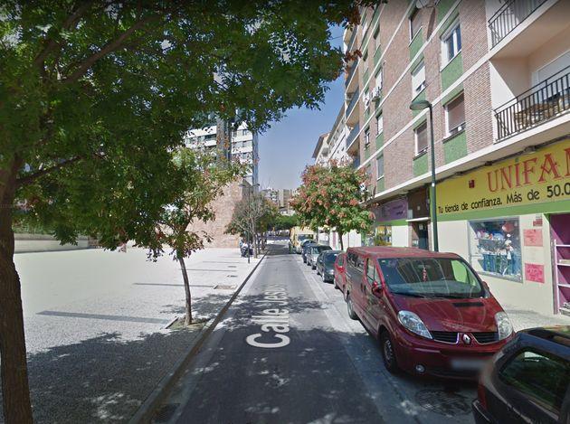 La calle Jesús, en Zaragoza, donde se ha producido la agresión