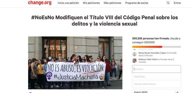 Petición en