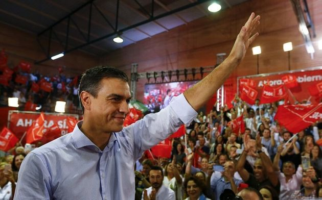 El presidente del Gobierno en funciones y secretario general socialista arranca la campaña del...