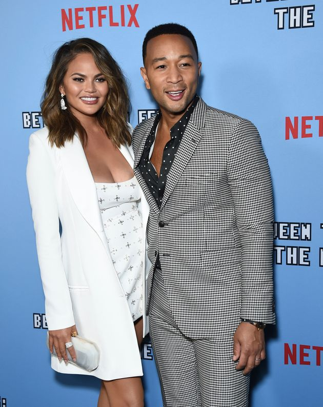 Chrissy Teigen and John