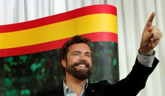 El portavoz de Vox en el Congreso, Iván Espinosa de los