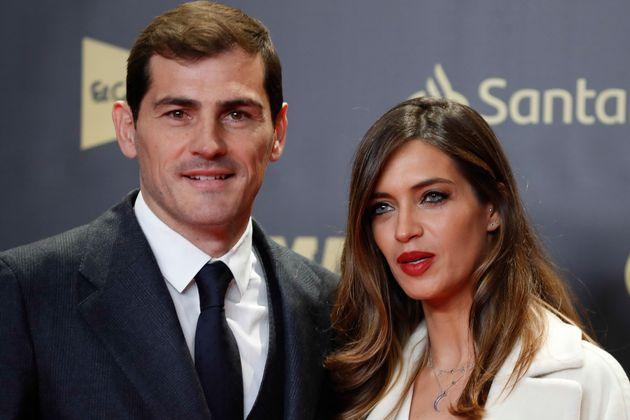 Iker Casillas y Sara Carbonero en una gala de