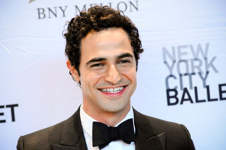 Zac Posen attends the NYC Ballet Fall Fashion Gala held at Lincoln Center in New York City.