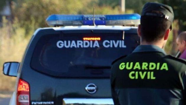 Un agente de la Guardia Civil en una imagen de