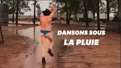 Les Australiens fous de joie après des pluies diluviennes tant