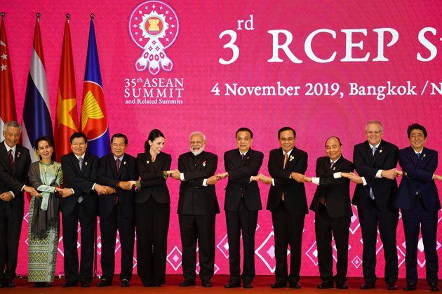 The 3rd Regional Comprehensive Economic Partnership (RCEP) Summit in Bangkok on 4 November,