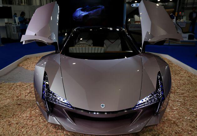 Ιαπωνία: Οικολογικό supercar φτιαγμένο από ξύλο και