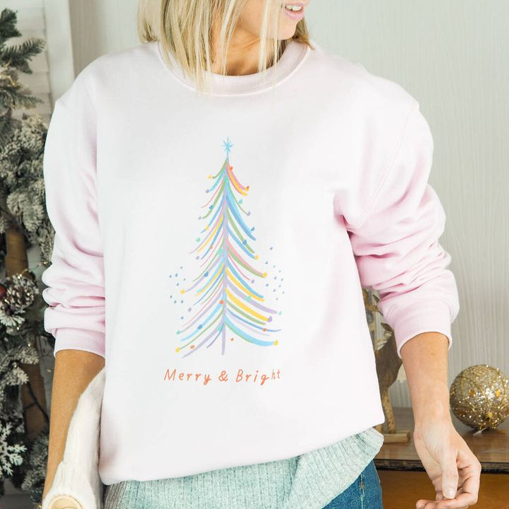 Merry And Bright Christmas Jumper, Not On The High Street