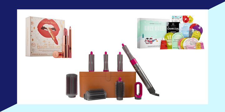 """These <a href=""""https://fave.co/34sZO1R"""" target=""""_blank"""" rel=""""noopener noreferrer"""">Sephora</a>&nbsp;gift sets are beautiful inside and out.&nbsp;"""