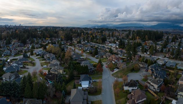 A neighbourhood in Surrey, Greater Vancouver,