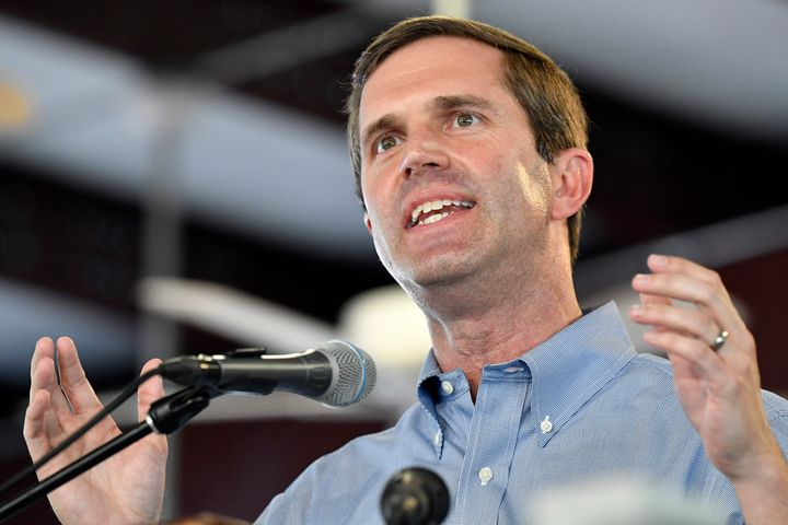 Democratic Attorney General Andy Beshear declared victory over Gov. Matt Bevin (R) in Kentucky's governor's race Tuesday.