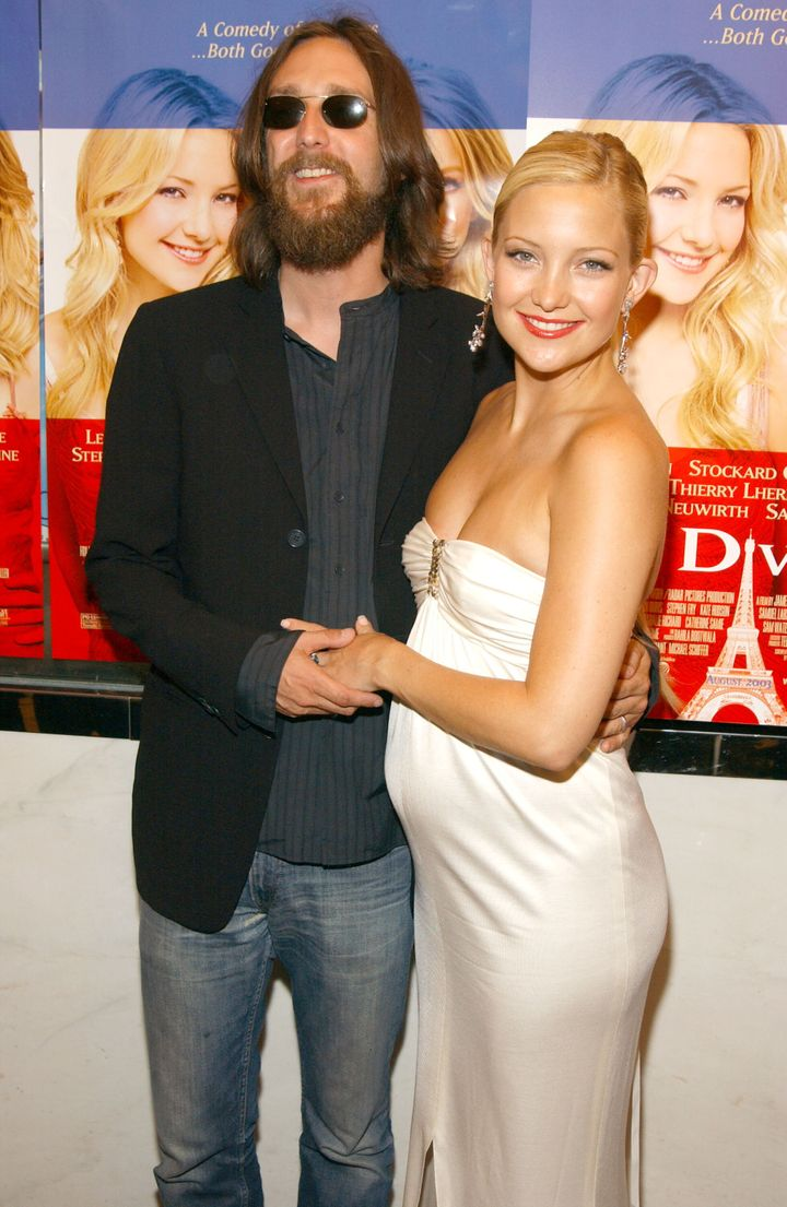 "Chris Robinson and Kate Hudson at the ""Le Divorce"" premiere in 2003."