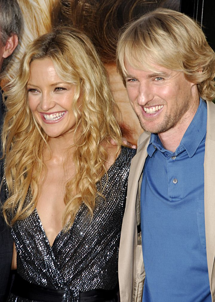 "Hudson and Owen Wilson at the ""You, Me and Dupree"" premiere in 2006."
