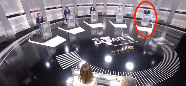 Debate electoral en la Academia de la